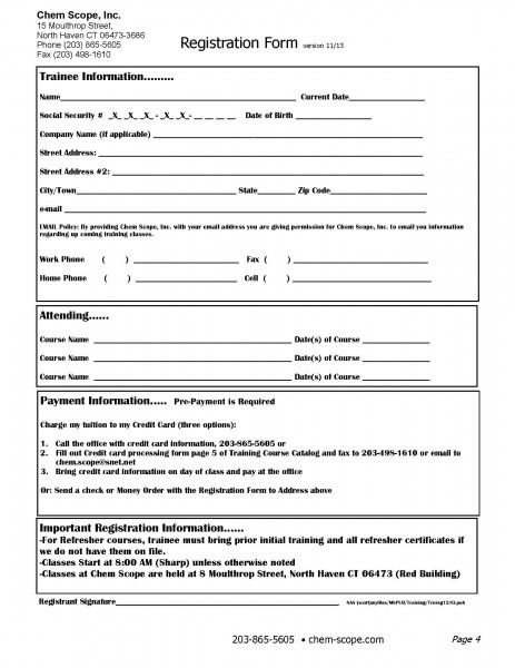 TrainingRegistrationForm